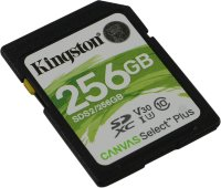Карта памяти Kingston SDXC 256Gb UHS U3 V30